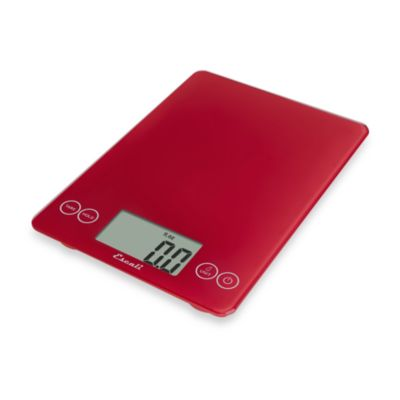 Escali® Arti 15-Pound Multipurpose Digital Scale in Red