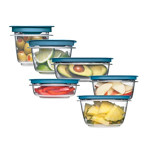 Rubbermaid® Flex & Seal™ Food Storage Containers with Easy Find Lids
