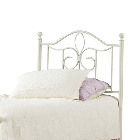 Hillsdale Furniture Westfield Metal Twin Headboard with Rails