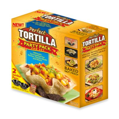 Perfect Tortilla Party Pack Pans (Set of 2)