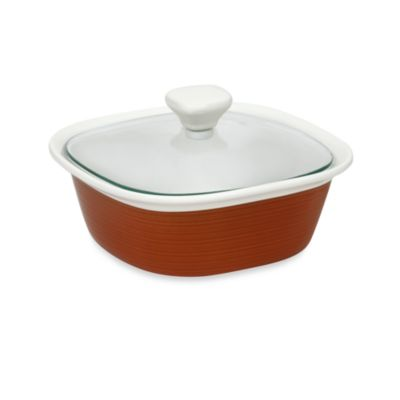 CorningWare® Etch™ 1-1/2-Quart Casserole Dish in Brick