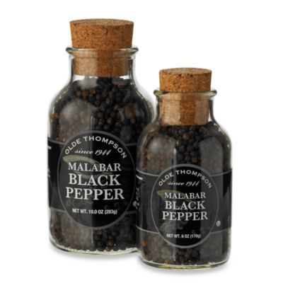 Olde Thompson Black Malabar Peppercorns