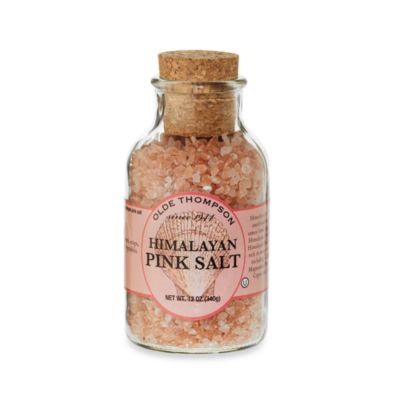 Olde Thompson Himalayan Grinding Salt 12 oz in Pink