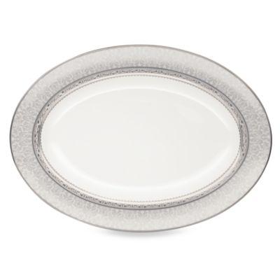 Odessa Platinum 14-Inch Oval Platter