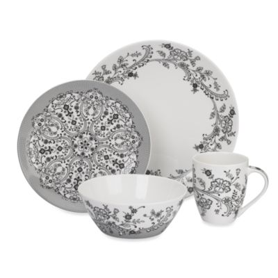 Oleg Cassini Ava 4-Piece Place Setting