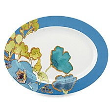 Lenox® Floral Fusion Blue 16-Inch Oval Platter