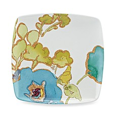 Lenox® Floral Fusion Blue 8 1/2-Inch Square Accent Plate