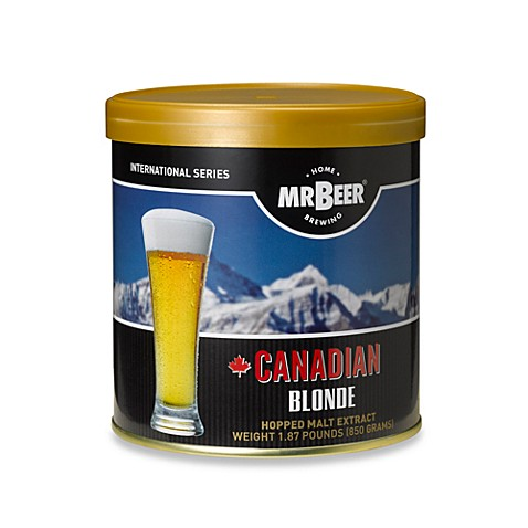 MR. BEER® Canadian Blonde Refill Brew Refill