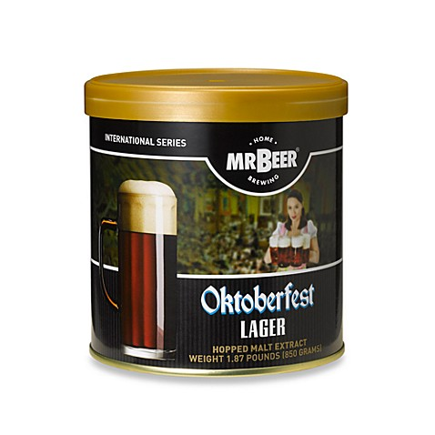 MR. BEER® Oktoberfest Lager Refill Brew Pack