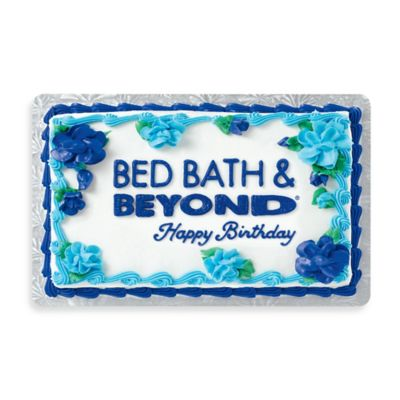"""Happy Birthday"" Cake Gift Card $100"