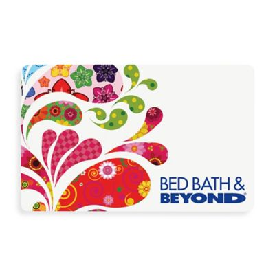 Multi Paisley Splash Gift Card $50
