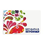 Multi Paisley Splash Gift Card $50.00