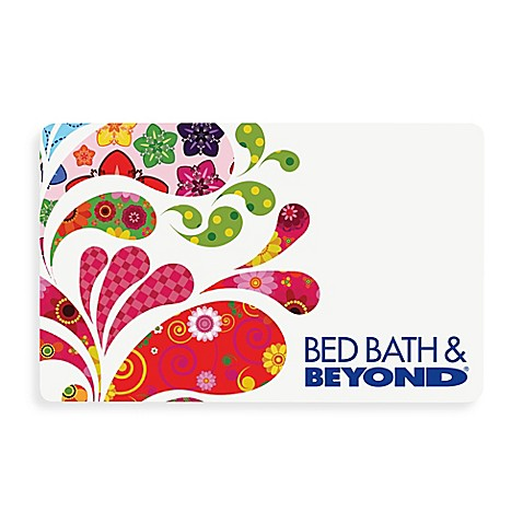 Multi Paisley Splash Gift Card $200
