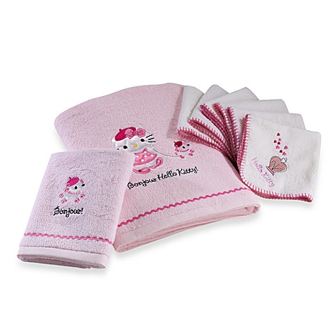 Hello Kitty Bonjour Towels