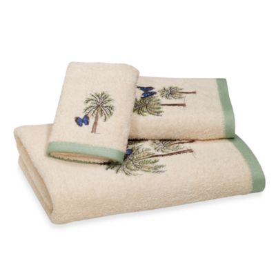 Croscill Butterfly Palm 27-Inch x 50-Inch Bath Towel