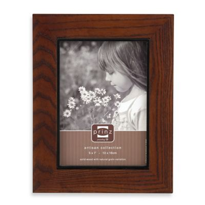 Prinz Adler 11-Inch x 14-Inch Wood Picture Frame in Walnut