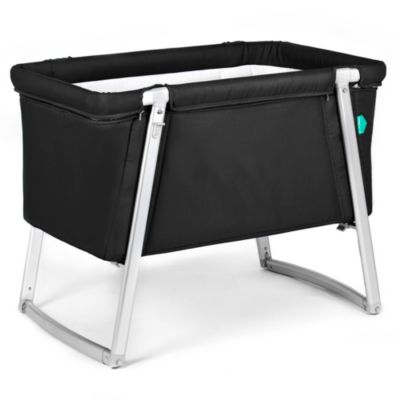 babyhome® Dream Cot in Black