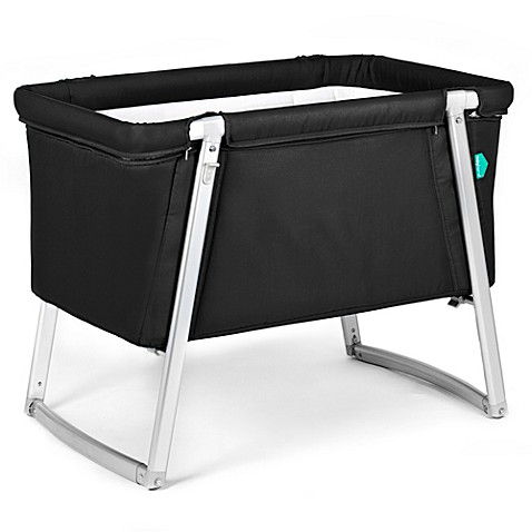 babyhome® Dream Bassinet in Black
