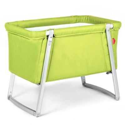 babyhome® Dream Cot in Lime