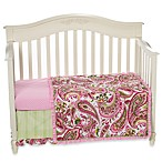 My Baby Sam Paisley Splash in Pink Crib Bedding Collection