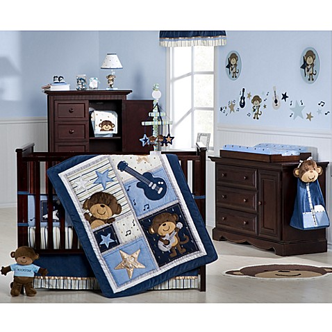 Carter's® Monkey Rockstar Crib Bedding Collection