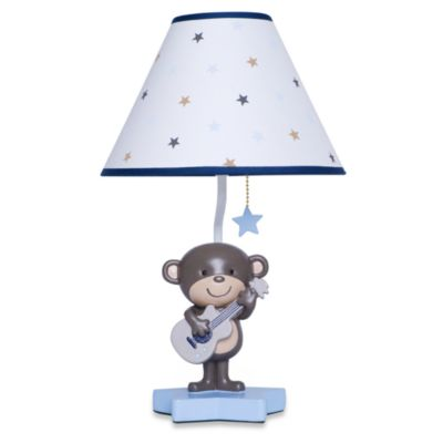 Carter's® Monkey Rockstar Lamp & Shade