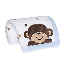 Carter's® Monkey Rockstar Blanket