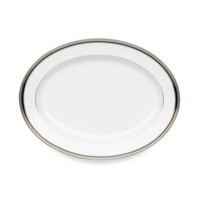 Noritake® Austin Platinum 14-Inch Oval Platter