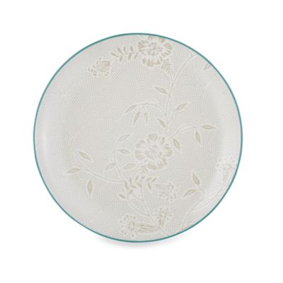Noritake® Colorwave Turquoise Bloom Coupe 10 1/2-Inch Dinner Plate