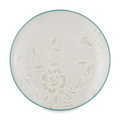 Noritake® Colorwave Turquoise Bloom Coupe 8 1/4-Inch Salad Plate