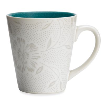 Noritake® Colorwave Turquoise Bloom 12-Ounce Mug