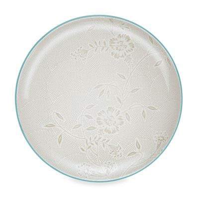 Noritake® Colorwave Bloom Coupe Platter in Turquoise