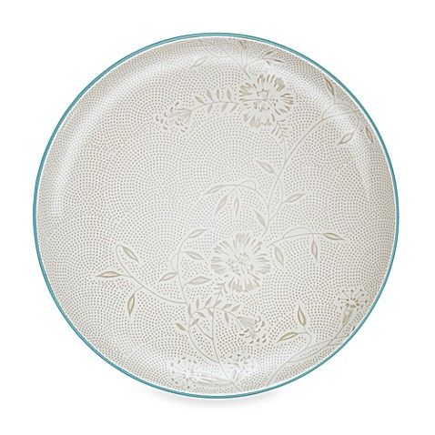 Noritake® Colorwave Bloom Platter in Turquoise