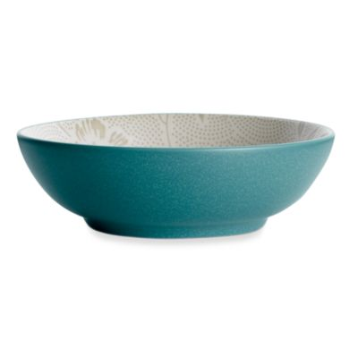 Noritake® Colorwave Turquoise Bloom 9 1/2-Inch Vegetable Bowl