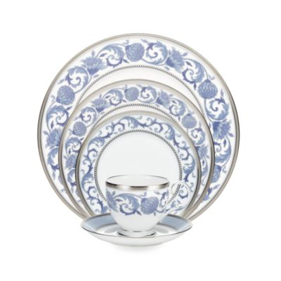 Noritake® Sonnet in Blue 5-Piece Place Setting