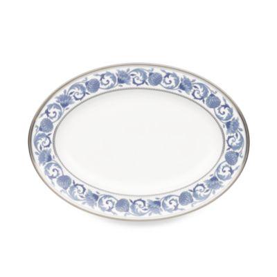 Blue 14-Inch Oval Platter