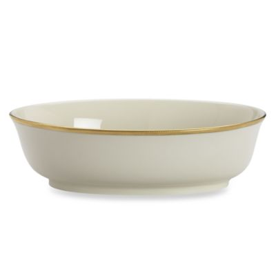 Lenox® Tuxedo 9 1/2-Inch Open Vegetable Bowl