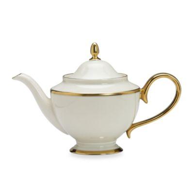 Lenox® Tuxedo 40-Ounce Teapot