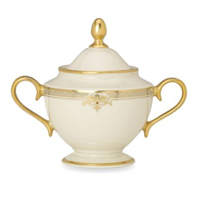 Lenox® Republic® 4 3/4-Inch Covered Sugar Bowl
