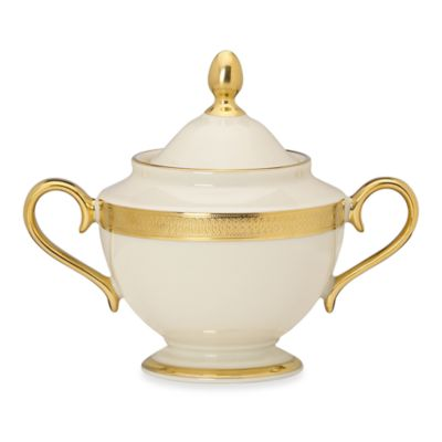 Lenox® Lowell 4 3/4-Inch Covered Sugar Bowl