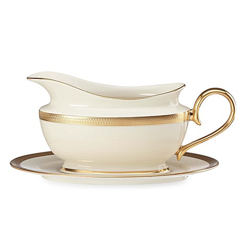 Lenox® Lowell 16-Ounce Gravy Boat & Stand