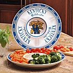 University of Kentucky Gameday Ceramic Chip and Dip Server