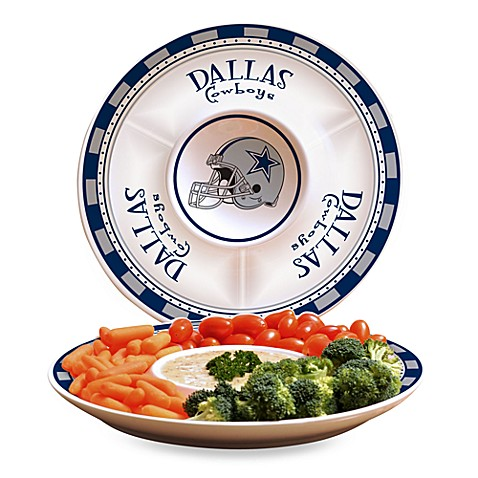 NFL Dallas Cowboys Game Day Chip and Dip Server