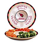 Arizona Cardinals Gameday Ceramic Chip and Dip Server