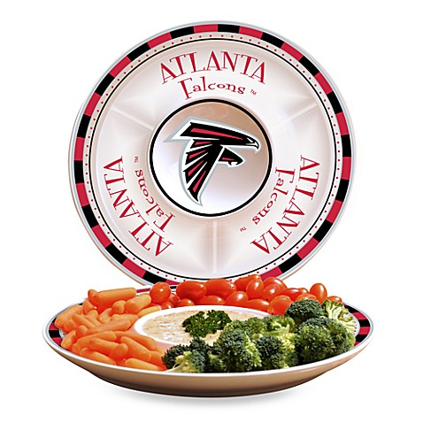 NFL Atlanta Falcons Game Day Chip and Dip Server