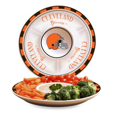 NFL Cleveland Browns Game Day Chip and Dip Server