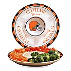 Cleveland Browns Gameday Ceramic Chip and Dip Server