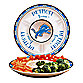 Detroit Lions Gameday Ceramic Chip and Dip Server