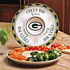 Green Bay Packers Gameday Ceramic Chip and Dip Server