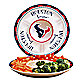 Houston Texans Gameday Ceramic Chip and Dip Server